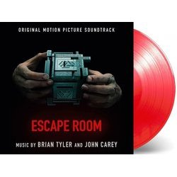 Escape Room Soundtrack (John Carey, Bryan Tyler) - cd-carátula