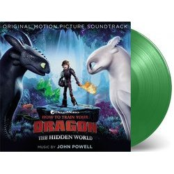 How to Train Your Dragon: The Hidden World Soundtrack (John Powell) - cd-inlay