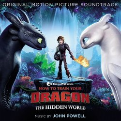 How to Train Your Dragon: The Hidden World Soundtrack (John Powell) - CD cover