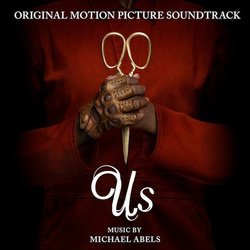 Us Soundtrack (Michael Abels) - CD cover