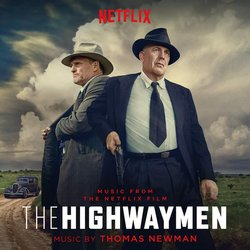 The Highwaymen Soundtrack (Thomas Newman) - CD cover