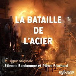 La Bataille de l'acier サウンドトラック (Etienne Bonhomme, Pierre Fruchard) - CDカバー