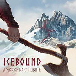 Icebound: A God of War Tribute Soundtrack (Psamathes , Danilo Ciaffi, Dacian Grada) - CD-Cover