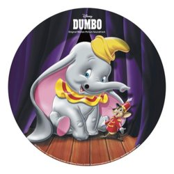 Dumbo Soundtrack (Frank Churchill, Oliver Wallace) - CD Back cover