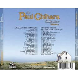 The Paul Chihara Collection: Volume 2 Soundtrack (Paul Chihara) - CD Back cover