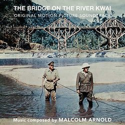 The Bridge On The River Kwai Soundtrack (Malcolm Arnold) - CD cover