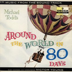 Around The World In 80 Days Colonna sonora (Victor Young) - Copertina del CD