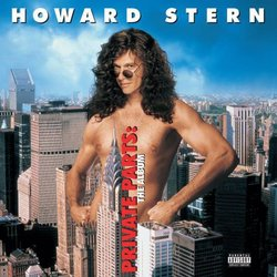 Howard Stern Private Parts: The Album Soundtrack (Various Artists) - CD cover