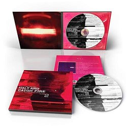 Halt and Catch Fire Vol 2 Soundtrack (Paul Haslinger) - CD Achterzijde