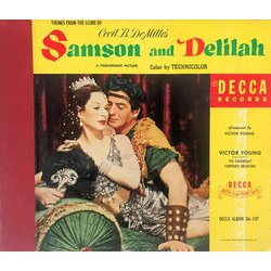 Samson And Delilah Bande Originale (Victor Young) - Pochettes de CD