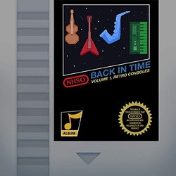 Back in Time, Vol. 1 Retro Consoles Soundtrack (Various Artists, Nathan Hanover Synthonic Orchestra) - CD cover