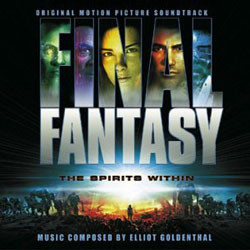 Final Fantasy: The Spirits Within Soundtrack (Elliot Goldenthal) - CD cover