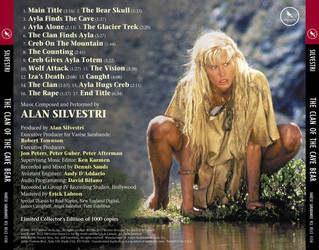 Film Music Site The Clan Of The Cave Bear Soundtrack Alan