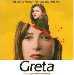 Greta Soundtrack (Javier Navarrete) - CD cover