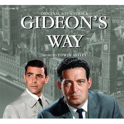 Gideon's Way Soundtrack (Edwin Astley) - CD cover
