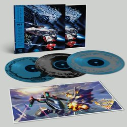 Thunder Force IV Soundtrack (Various Artists) - cd-inlay