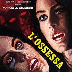 L'Ossessa Soundtrack (Marcello Giombini) - CD-Cover