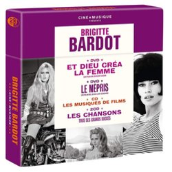 Brigitte Bardot Ciné Musique Colonna sonora (Various Artists) - Copertina del CD
