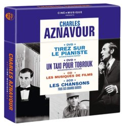 Charles Aznavour Ciné Musique Soundtrack (Various Artists) - Carátula