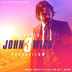 John Wick: Chapter 3 – Parabellum 聲帶 (Tyler Bates, Joel J. Richard) - CD封面