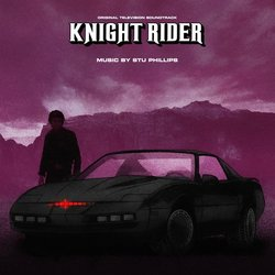 Knight Rider Colonna sonora (Stu Phillips) - Copertina del CD