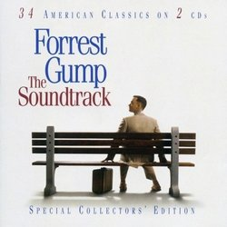 Forrest Gump サウンドトラック (Various Artists, Alan Silvestri) - CDカバー