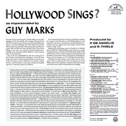 Hollywood Sings? Bande Originale (Various Artists, Guy Marks) - CD Arrière