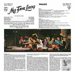My Fair Lady Soundtrack (Various Artists) - CD Back cover