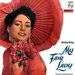 My Fair Lady Soundtrack (Various Artists) - CD cover