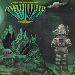 Forbidden Planet Soundtrack (Bebe Barron, Louis Barron) - CD cover