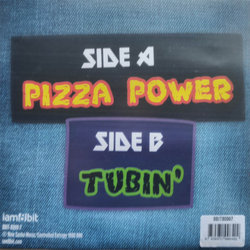 Teenage Mutant Ninja Turtles: Pizza Power / Tubin Soundtrack (Various Artists) - CD-Rückdeckel