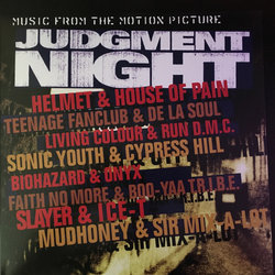 Judgment Night サウンドトラック (Various Artists) - CDカバー