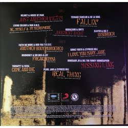 Judgment Night Soundtrack (Various Artists) - CD Back cover