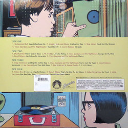 Ghost World 聲帶 (Various Artists, David Kitay) - CD後蓋