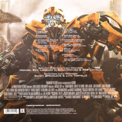 Transformers: Dark of the Moon Soundtrack (Various Artists, Jeff Broadbent, Steve Jablonsky) - CD Trasero