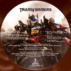 Transformers: Dark of the Moon Soundtrack (Various Artists, Jeff Broadbent, Steve Jablonsky) - cd-inlay