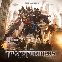 Transformers: Dark of the Moon Soundtrack (Various Artists, Jeff Broadbent, Steve Jablonsky) - Carátula