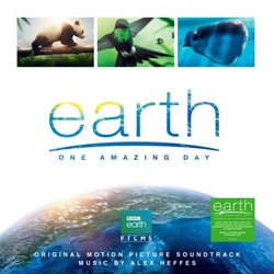 Earth One Amazing Day Soundtrack (Alex Heffes) - CD-Cover