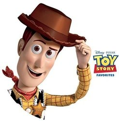 Toy Story Favorites Soundtrack (Randy Newman) - CD cover