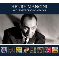 Henry Mancini: Eight Classic Albums Soundtrack (Henry Mancini) - CD cover