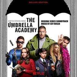 The Umbrella Academy Soundtrack (Jeff Russo) - CD cover