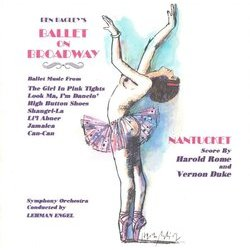 Ben Bagley's Ballet on Broadway Soundtrack (Various Artists) - CD-Cover