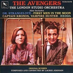 The Avengers Bande Originale (Laurie Johnson) - Pochettes de CD