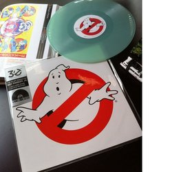 Ghostbusters Soundtrack (Elmer Bernstein, Ray Parker Jr.) - CD-Inlay