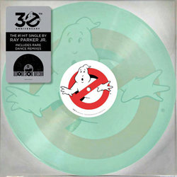 Ghostbusters Soundtrack (Elmer Bernstein, Ray Parker Jr.) - CD-Cover