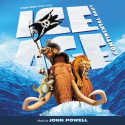 Ice Age: Continental Drift Soundtrack (John Powell) - CD cover