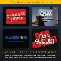 The Quinn Martin Collection Volume 1: Cop and Detective Series - Various Artists - 26/04/2019