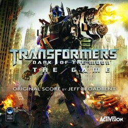 Transformers: Dark of the Moon Soundtrack (Jeff Broadbent) - Carátula