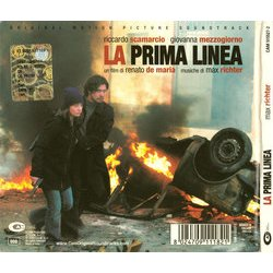 La Prima linea Soundtrack (Max Richter) - CD Achterzijde
