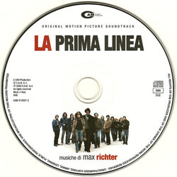 La Prima linea Soundtrack (Max Richter) - cd-inlay